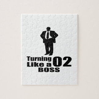 Turning 02 Like A Boss Jigsaw Puzzle