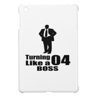 Turning 04 Like A Boss iPad Mini Case