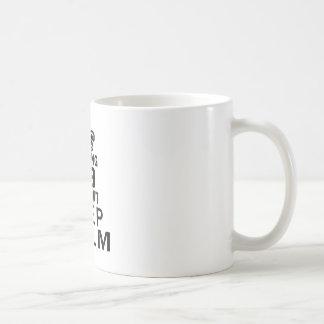 Turning 09 and i can't keep calm coffee mugs