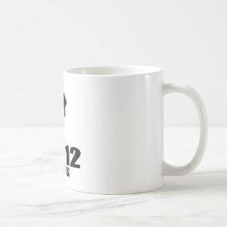 Turning 12 Like A Boss Coffee Mug