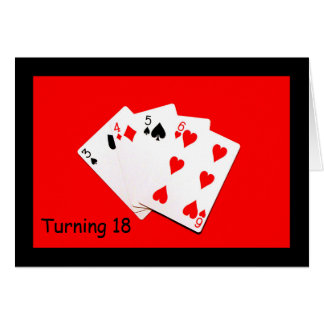 Turning 18 Is A Big Deal! Card