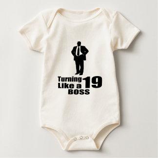 Turning 19 Like A Boss Baby Bodysuit