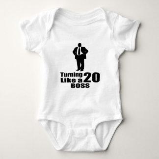 Turning 20 Like A Boss Baby Bodysuit