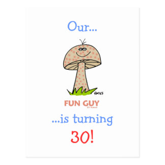 Turning 30 Cheap Funny Milestone Birthday Invites Postcard