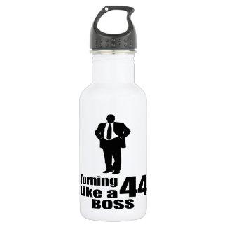 Turning 44 Like A Boss 532 Ml Water Bottle