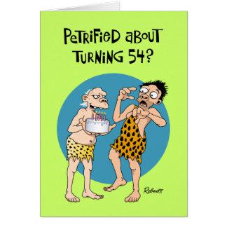 Turning 54 Birthday Greeting Cards