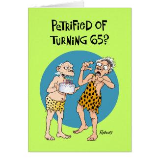 Turning 65 Birthday Card