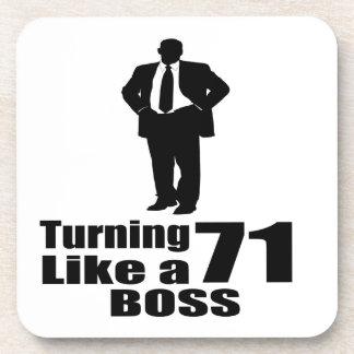 Turning 71 Like A Boss Coaster