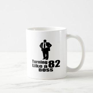 Turning 82 Like A Boss Coffee Mug