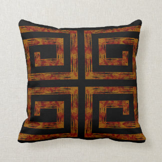 Turning Flame Black Decor-soft Pillows