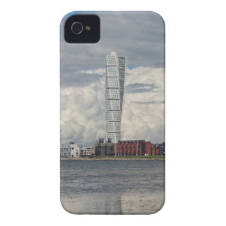 Turning torso beach malmö sweden iPhone 4 Case-Mate case