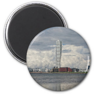 Turning torso beach malmö sweden magnet