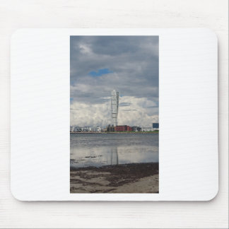 Turning torso beach malmö sweden mouse pad