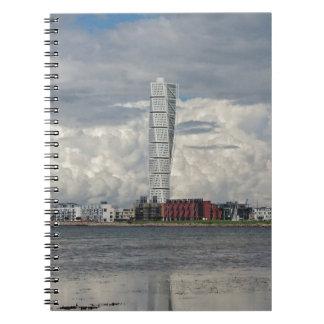 Turning torso beach malmö sweden notebooks