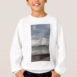 Turning torso beach malmö sweden sweatshirt