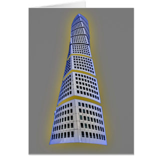 Turning Torso High Quality Greeting Card