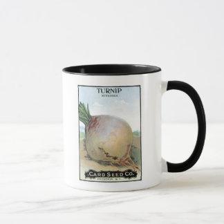 Turnip, Card Seed Company Mug