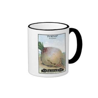 Turnip, Card Seed Company Mugs