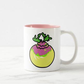 turnip Two-Tone coffee mug