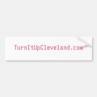 TurnItUpCleveland.com Bumper Sticker