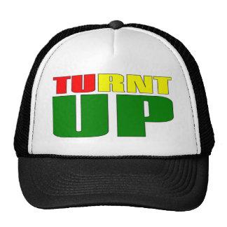 TURNT UP TRUCKER HAT MESH HAT