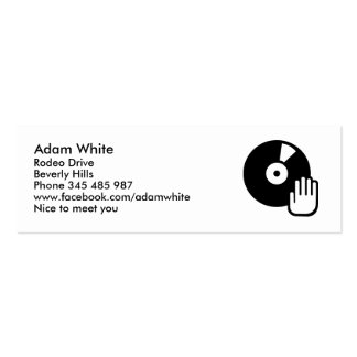 Turntable Business Cards