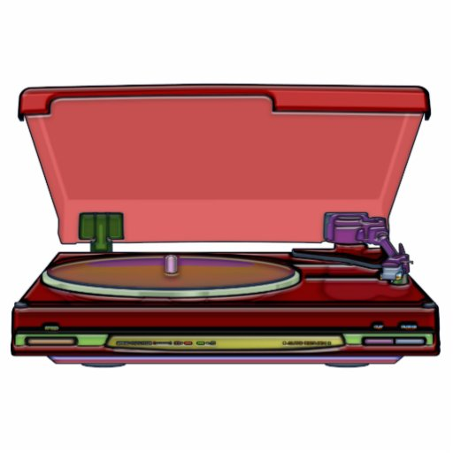 Turntable Design Cut Outs