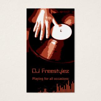Turntable DJ Business Card