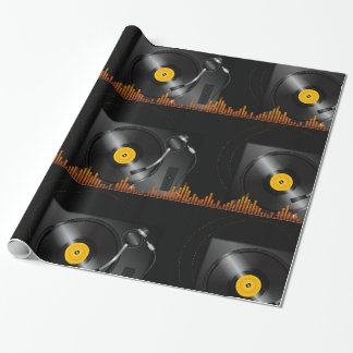 Turntable Glossy Wrapping Paper