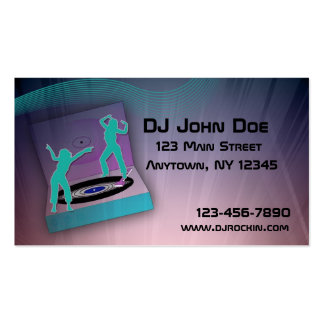 Turntable Music Business Card