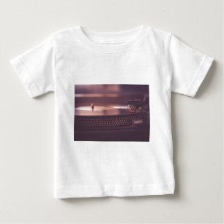 Turntable Music Record Vinyl Equipment Black Baby T-Shirt