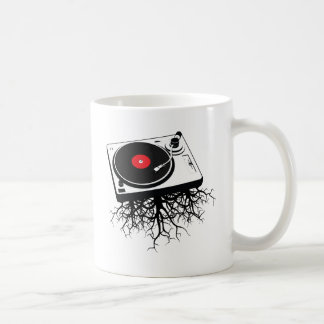 Turntable Music Roots Coffee Mug