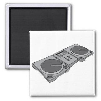Turntable Phonograph Record Player DJ Magnet
