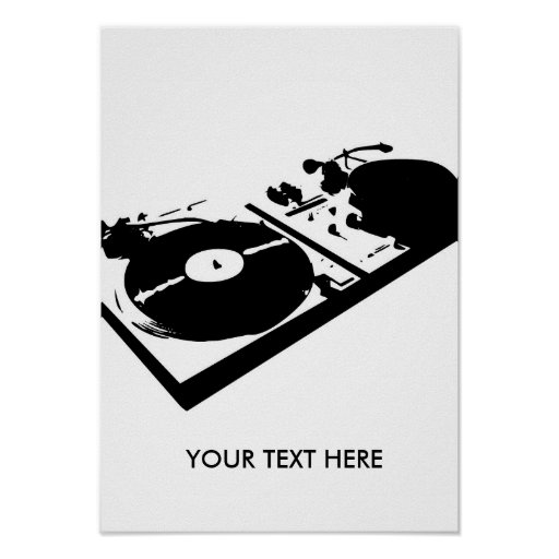 Turntable Posters