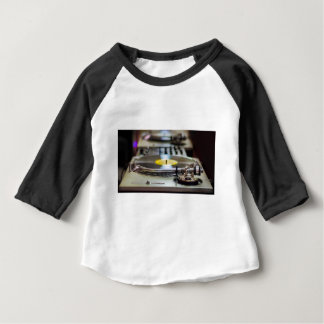 Turntable Record Vinyl Music Sound Retro Vintage Baby T-Shirt
