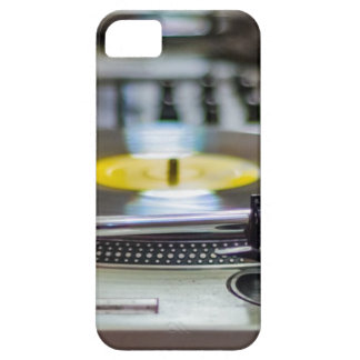 Turntable Record Vinyl Music Sound Retro Vintage iPhone 5 Case