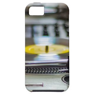 Turntable Record Vinyl Music Sound Retro Vintage iPhone 5 Cover