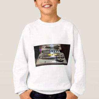Turntable Record Vinyl Music Sound Retro Vintage Sweatshirt