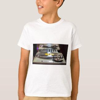 Turntable Record Vinyl Music Sound Retro Vintage T-Shirt