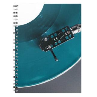 Turntable Vinyl Record Album Music Notebooks