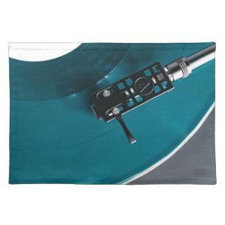 Turntable Vinyl Record Album Music Placemat