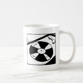 Turntable With Vinyl Record Coffee Mug