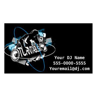 Turntablism DJ Business Card Business Cards