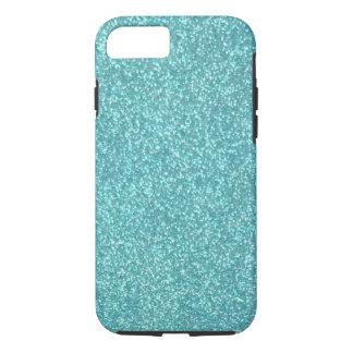 Turqouise Glitter iPhone 7 case
