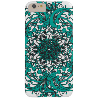 Turquois Mandala Barely There iPhone 6 Plus Case