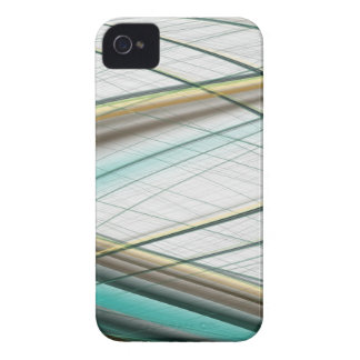 Turquoise abstract collection theme 1 iPhone 4 Case-Mate case