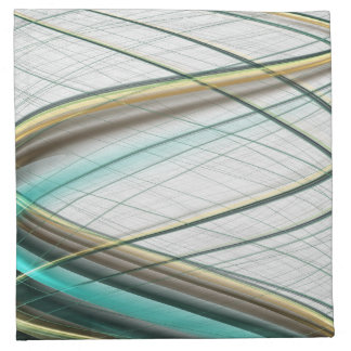 Turquoise abstract collection theme 1 napkin