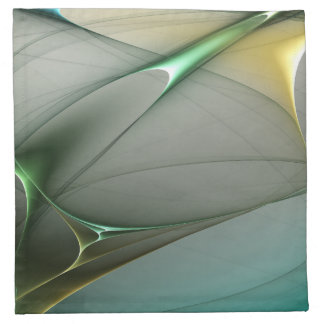 Turquoise abstract collection theme 2 napkin