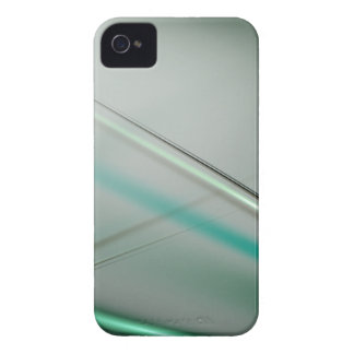 Turquoise abstract collection theme 3 iPhone 4 Case-Mate case