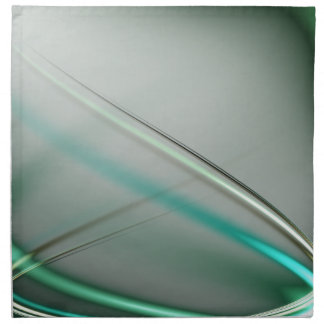 Turquoise abstract collection theme 3 napkin